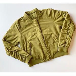 Lululemon Warm Two Ways Reversible Bomber Jacket